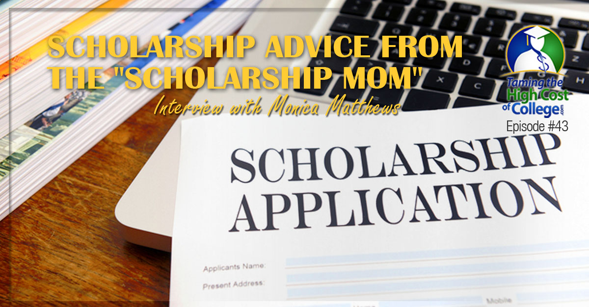 How to help your student win scholarships
