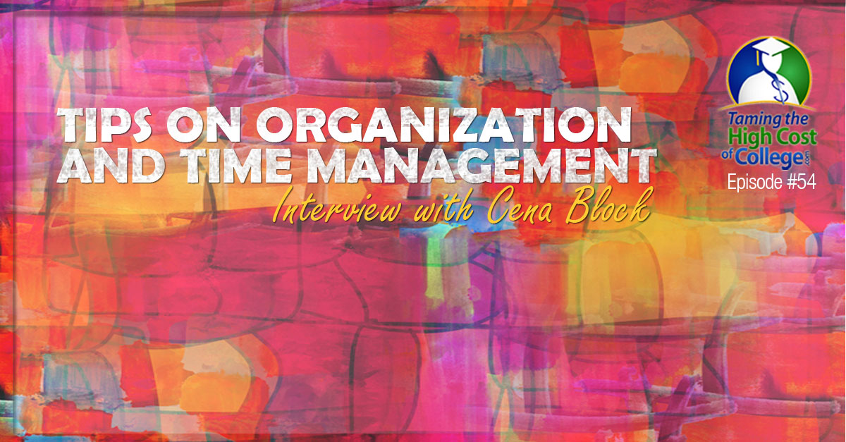 tips on organization and time management