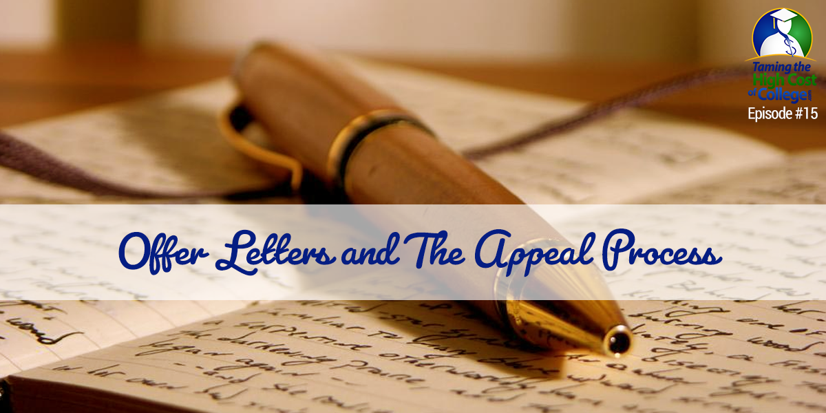 offer letters and the appeal process