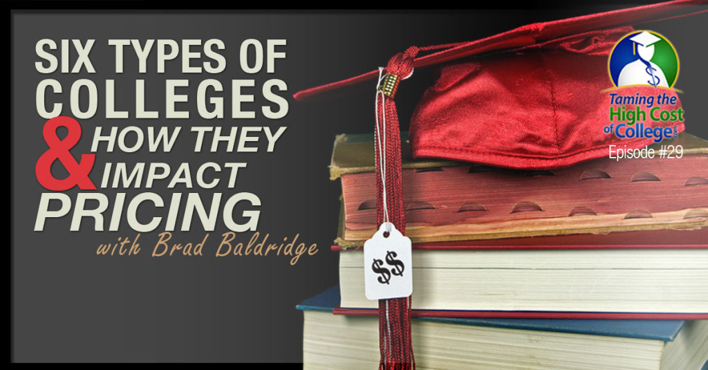 six types of colleges