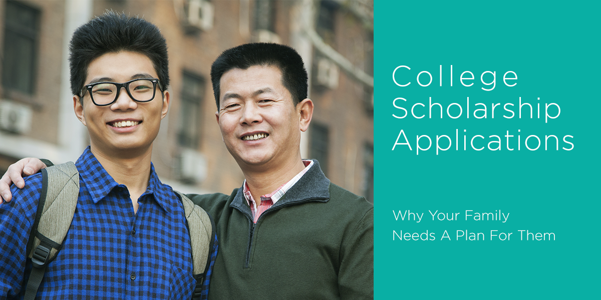 Your Family Needs a Plan for College Scholarship Applications