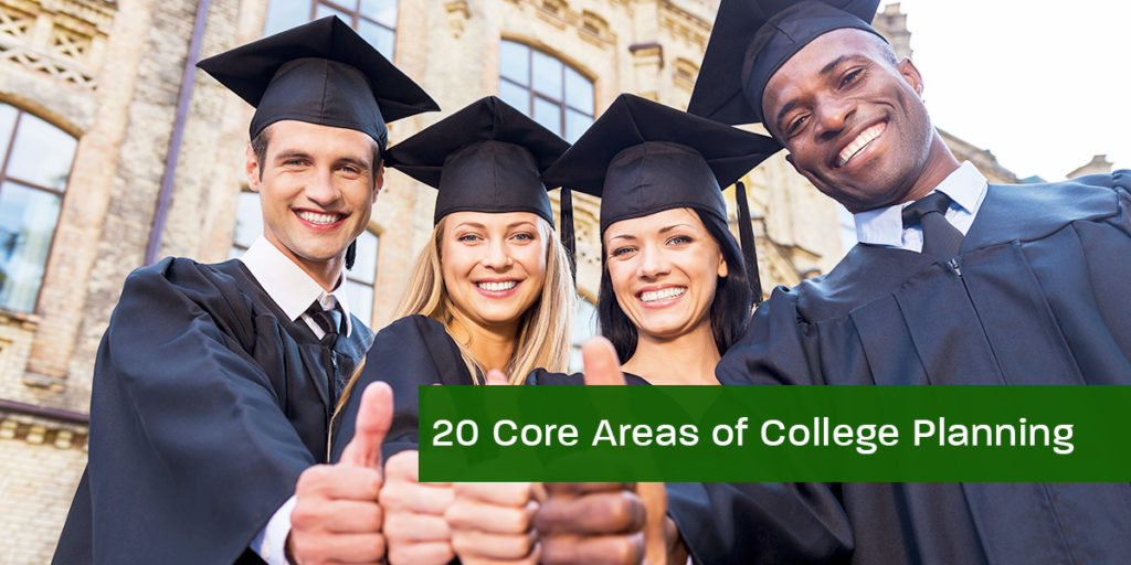 20 Core Areas of College Planning