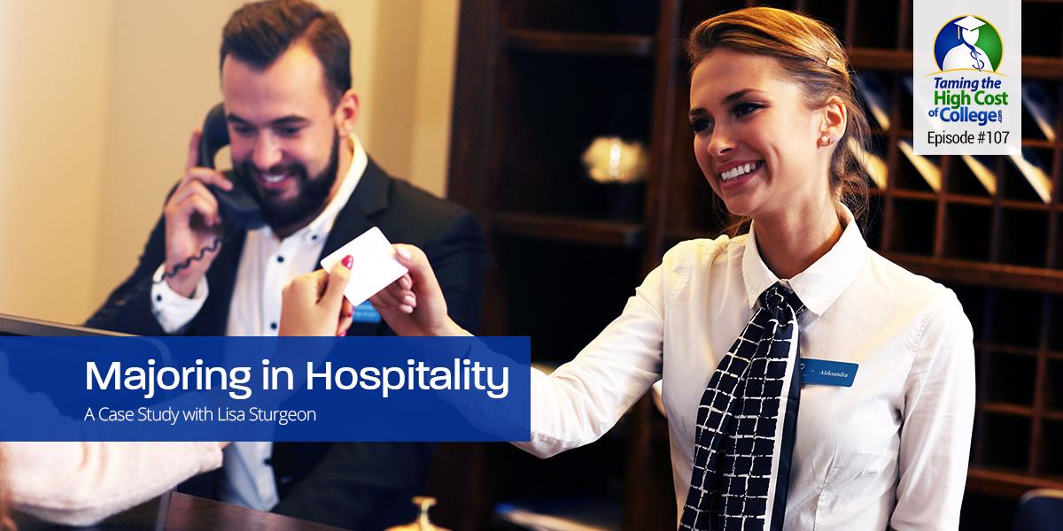 Majoring in Hospitality