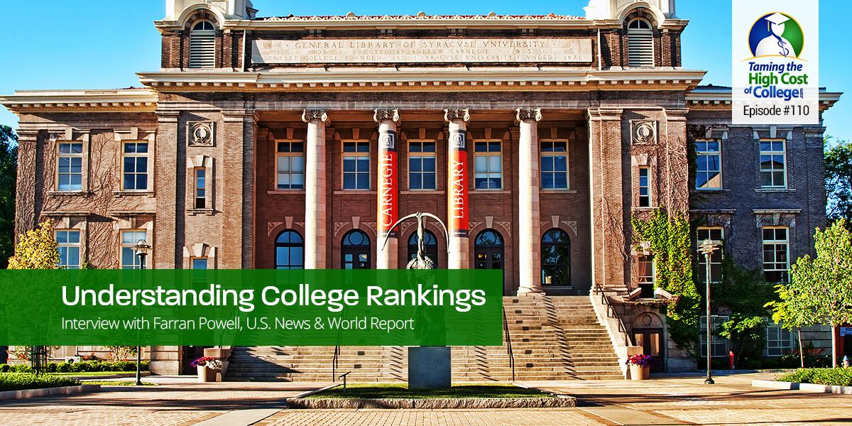 Understanding College Rankings