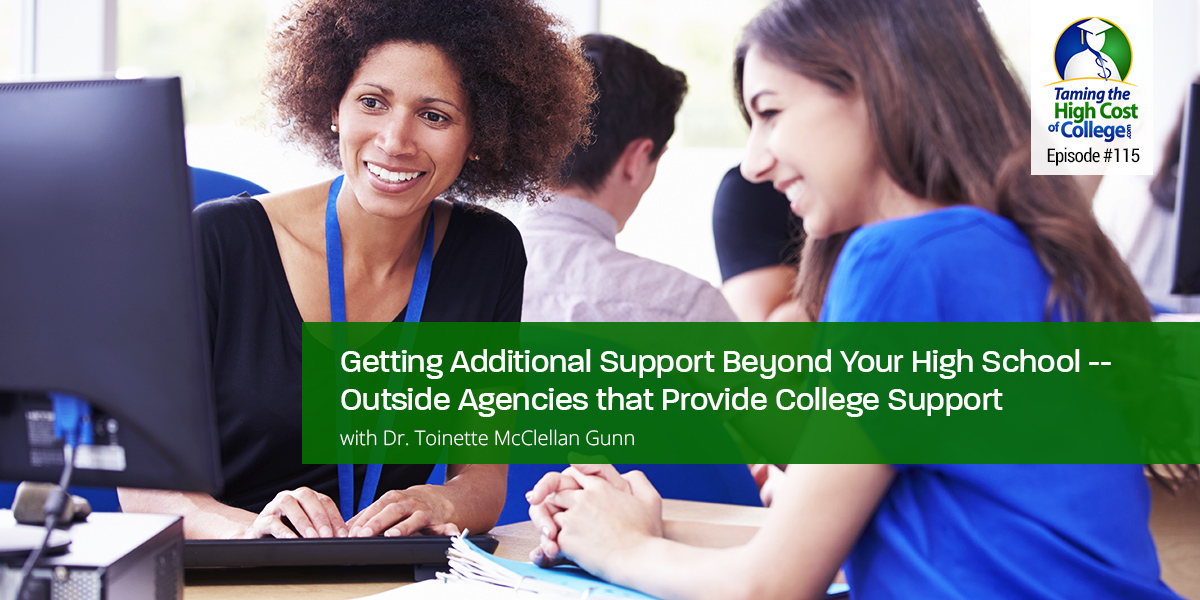 Getting Additional Support Beyond Your High School
