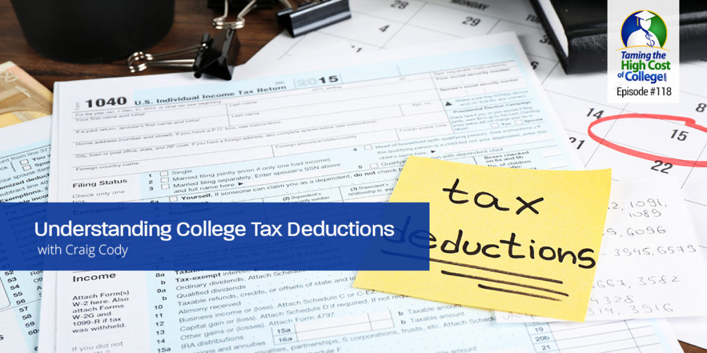 "THCC118 – Understanding College Tax Deductions Interview with Craig Cody, Certified Tax Coach and Author  ""Secrets of a Tax Free Life"""