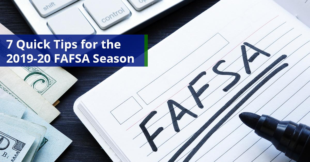 7 Quick Tips For the 2019-20 FAFA Season