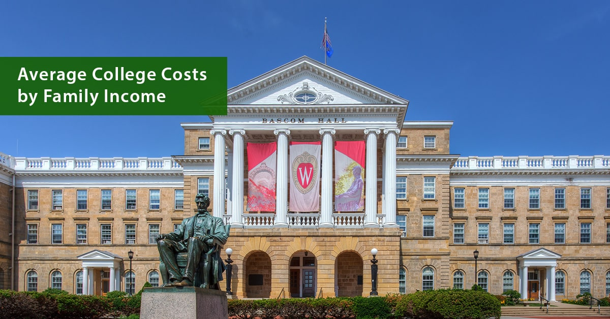 Average Net Costs by Family Income for U.S. Colleges